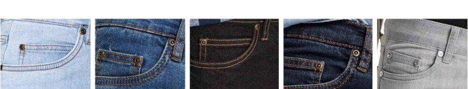 Délavages jeans