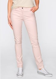 Pantalon en coton extensible straight, bpc bonprix collection, vert gui