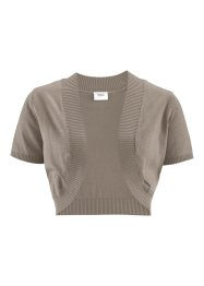 Boléro, bpc bonprix collection, taupe
