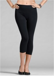 Lot de 2 leggings corsaires, BODYFLIRT, noir/noir