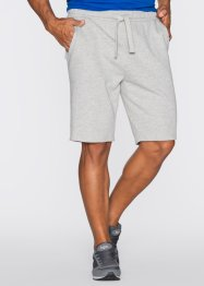 Short matière sweat Regular Fit, bpc bonprix collection, gris clair chiné