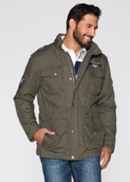 Parka militaire Regular Fit, bpc selection, olive foncé