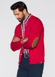 Gilet en maille Regular Fit, bpc selection, rouge
