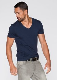 T-shirt Slim Fit, RAINBOW, olive foncé