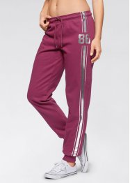 Pantalon sweat, bpc bonprix collection, prune
