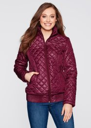 Veste doudoune, bpc bonprix collection, prune