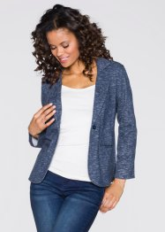 Blazer sweat-shirt, RAINBOW, gris chiné