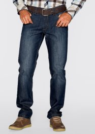 Jean Regular Fit Straight, John Baner JEANSWEAR, bleu foncé