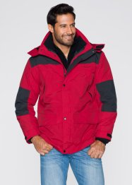 Veste 3en1 Regular Fit, bpc bonprix collection, rouge