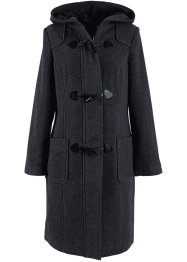 Manteau en laine, bpc bonprix collection, anthracite