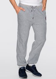 Pantalon polaire Regular Fit, bpc bonprix collection, gris clair chiné