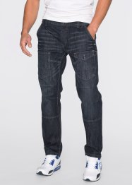 Jean Regular Fit Straight, RAINBOW, anthracite denim