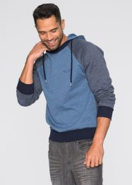 Sweat Slim Fit, RAINBOW, gris clair chiné