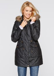 Manteau parka 2en1, bpc bonprix collection, noir