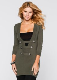 Pull, BODYFLIRT boutique, olive