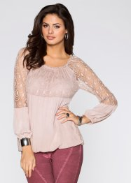 Blouse, BODYFLIRT, rose