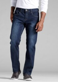 Jean extensible Regular Fit Straight, John Baner JEANSWEAR, bleu foncé
