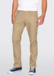 Pantalon extensible Slim Fit Straight, RAINBOW, beige