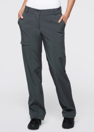 Pantalon softshell extensible, bpc bonprix collection, anthracite