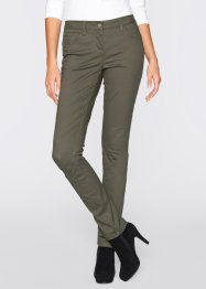 Pantalon skinny extensible, bpc bonprix collection, marron marsala