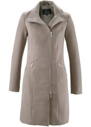 Manteau court blazer, bpc selection, taupe