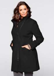 Manteau court blazer, bpc selection, noir