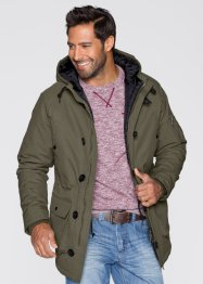 Parka Regular Fit, bpc bonprix collection, marron moyen