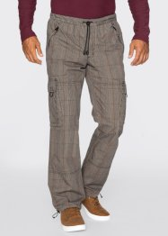 Pantalon cargo Loose Fit, bpc bonprix collection, carreaux