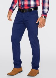 Pantalon extensible 5 poches Slim Fit Straight, bpc bonprix collection, bleu nuit