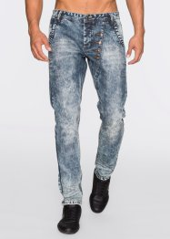 Jean Loose Fit Tapered, RAINBOW, bleu