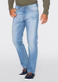 Jean Regular Fit Straight, John Baner JEANSWEAR, bleu moyen used