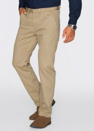 Pantalon chino Regular Fit Straight, bpc bonprix collection, beige