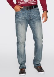Jean Regular Fit Straight, John Baner JEANSWEAR, bleu used