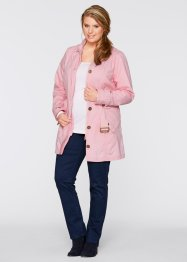 Trench-coat, bpc bonprix collection, rose poudré