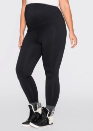 Legging thermo de grossesse, bpc bonprix collection, noir