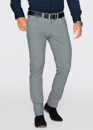 Pantalon extensible Slim Fit Straight, bpc selection, gris neutre