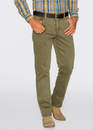 Pantalon extensible Regular Fit Straight, bpc selection, gris ardoise