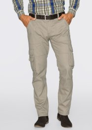 Pantalon cargo Regular Fit Straight, bpc selection, sable