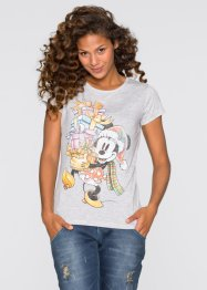 T-shirt, Disney, gris chiné