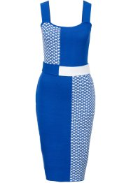 Robe, BODYFLIRT boutique, bleu/blanc