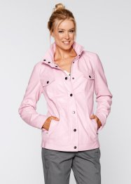 Veste simili cuir, bpc bonprix collection, rose clair