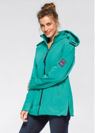 Veste softshell extensible, bpc bonprix collection, vert pacifique