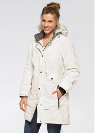 Veste longue outdoor, bpc bonprix collection, gris ardoise
