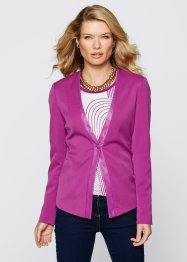 Blazer extensible, bpc selection, violet orchidée
