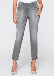 Jean extensible 7/8, bpc selection, gris denim