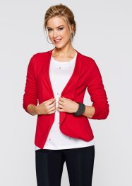 Blazer sweat, bpc bonprix collection, fraise