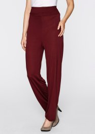 Pantalon, bpc bonprix collection, rouge érable
