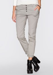Pantalon extensible loose fit, RAINBOW, gris used
