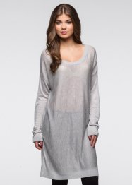 Pull oversize, RAINBOW, gris clair chiné