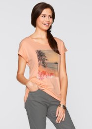 T-shirt mi-manches, bpc bonprix collection, melba imprimé